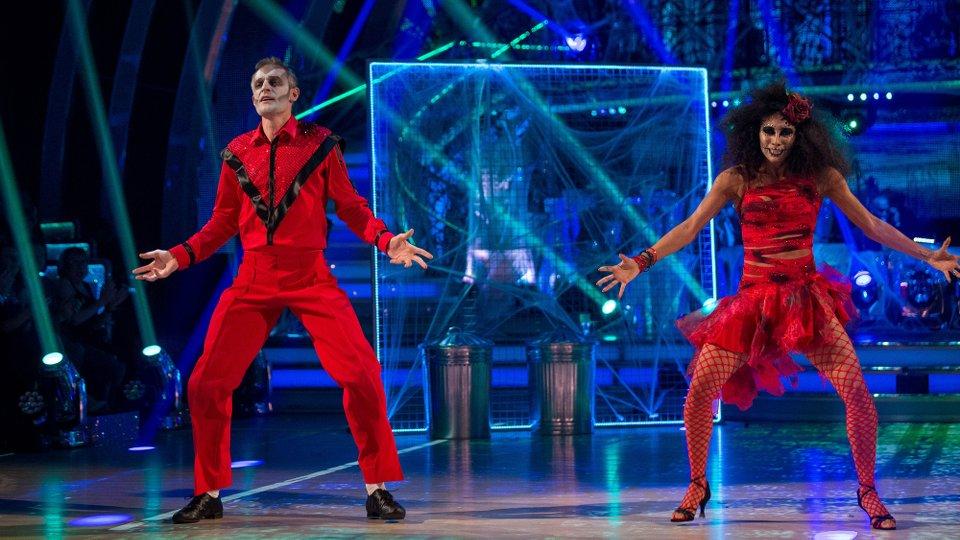 Jeremy Vine and Karen Clifton week 6