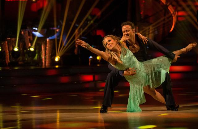 Kellie Bright & Kevin Clifton
