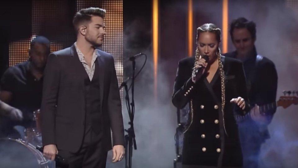 Adam Lambert & Leona Lewis