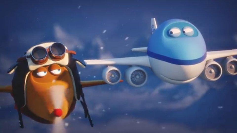 KLM - Bluey