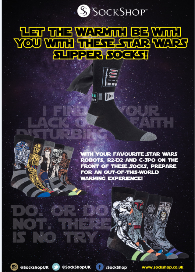 Credit: Lucasfilm/SockShop