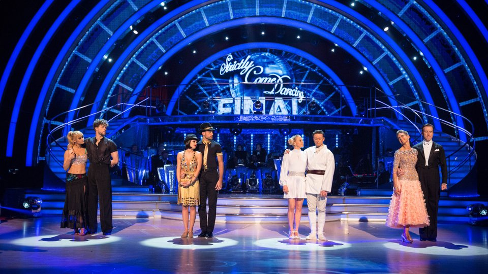 Strictly Come Dancing final 2015
