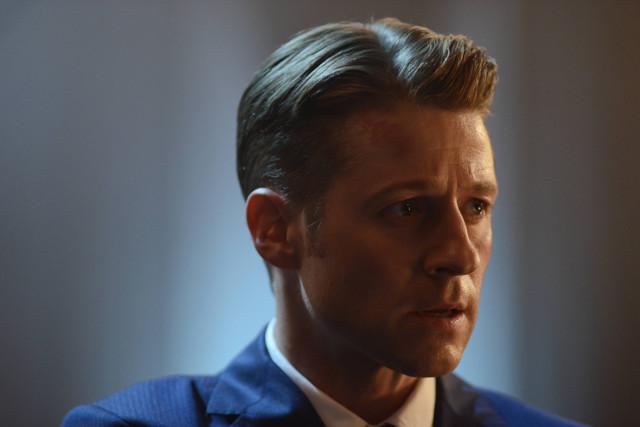 "Ben McKenzie as Detective James Gordon.Gotham 2, ep. 3 ""The Last Laugh"""