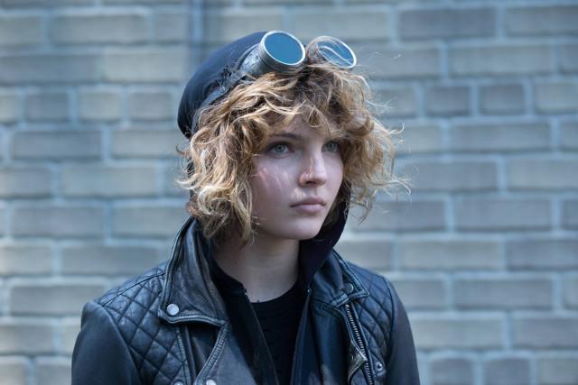 "Camren Bicondova as Selina Kyle.Gotham 2, ep. 4 ""Strike Force"""