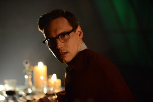 "Cory Michael Smith as Edward Nygma.Gotham 2, ep. 4 ""Strike Force"""