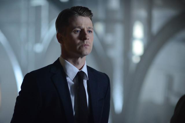 """Ben McKenzie as Detective James Gordon.Gotham 2, ep. 4 """"Strike Force"""""""