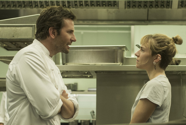 (L-R) BRADLEY COOPER and SIENNA MILLER star in BURNT