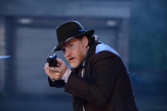 "Donal Logue as Detective Harvey Bullock.Gotham 2, ep. 5 ""Scarification"""