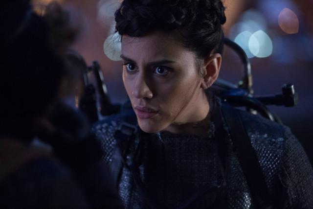 "Michelle Veintimilla as Firefly.Gotham 2, ep. 6 ""By Fire"""