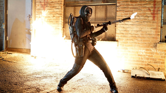 "Michelle Veintimilla as Firefly.Gotham 2, ep. 7 ""Mommy's Little Monster"""