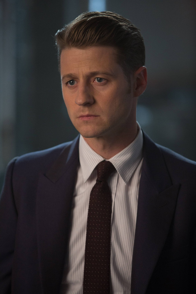 "Ben McKenzie as Detective James Gordon.Gotham 2, ep. 8 ""Tonight's the Night"""