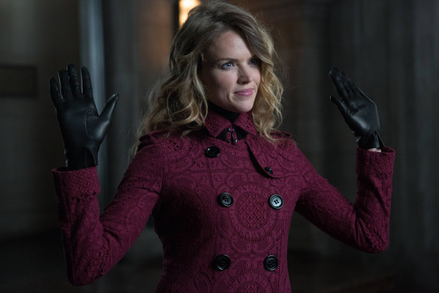 "Erin Richards as Barbara Kean.Gotham 2, ep. 8 ""Tonight's the Night"""