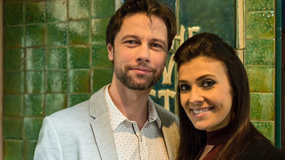 Leon Ockenden and Kym Marsh - Coronation Street
