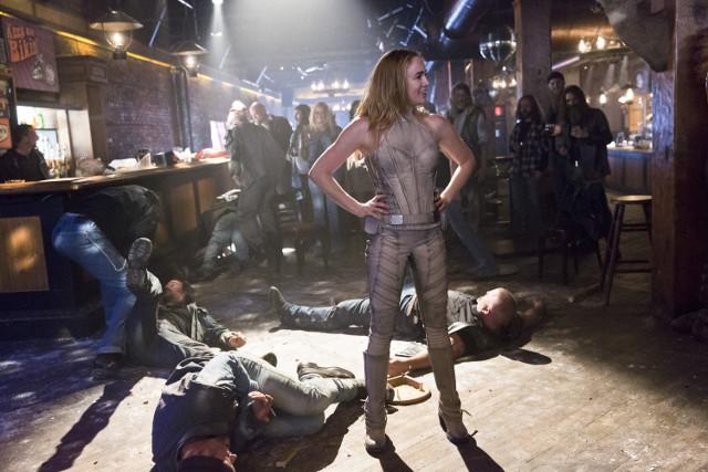 Caity Lotz as Sara Lance / Black Canary.
