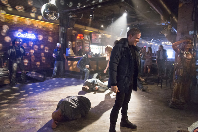 Wentworth Miller as Leonard Snart / Captain Cold.