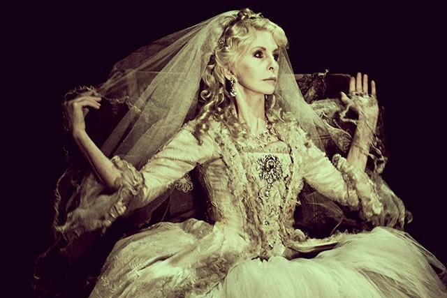 Jane Asher as Miss Havisham. Photographer: Idil Sukan