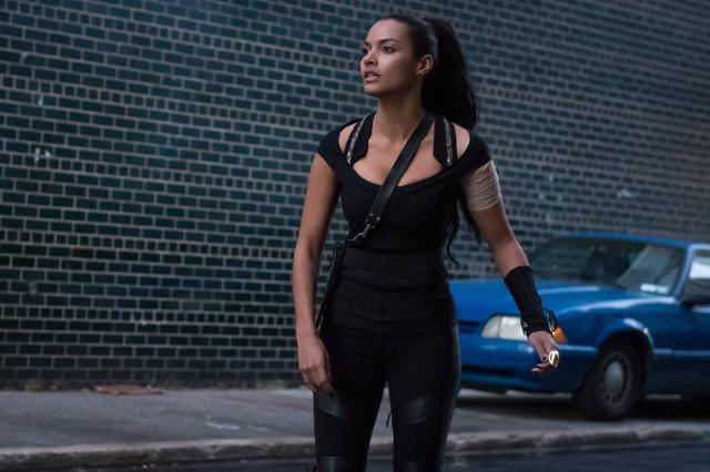 """Jessica Lucas as Tabitha Galavan.Gotham 2, ep. 10 """"The Son of Gotham"""""""