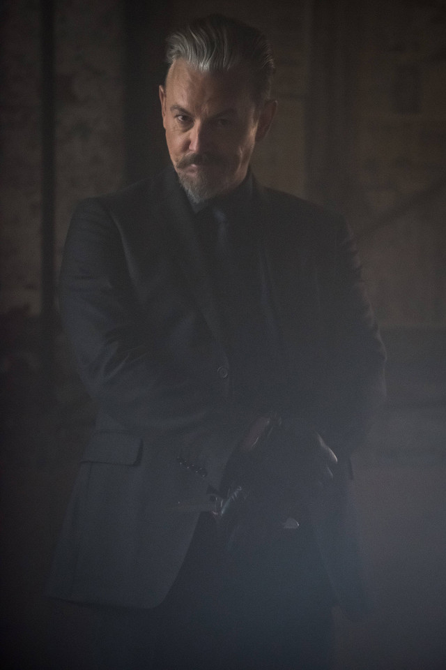 "Tommy Flanagan as The Knife.Gotham 2, ep. 10 ""The Son of Gotham"""