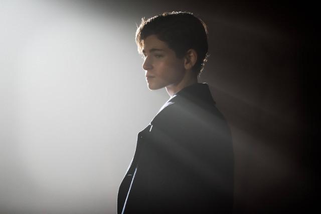 "David Mazouz as Bruce Wayne.Gotham 2, ep. 10 ""The Son of Gotham"""