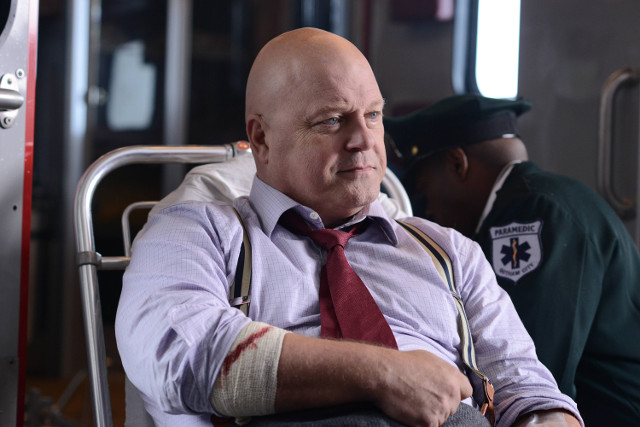 """Michael Chiklis as Nathaniel Barnes.Gotham 2, ep. 9 """"A Bitter Pill to Swallow"""""""