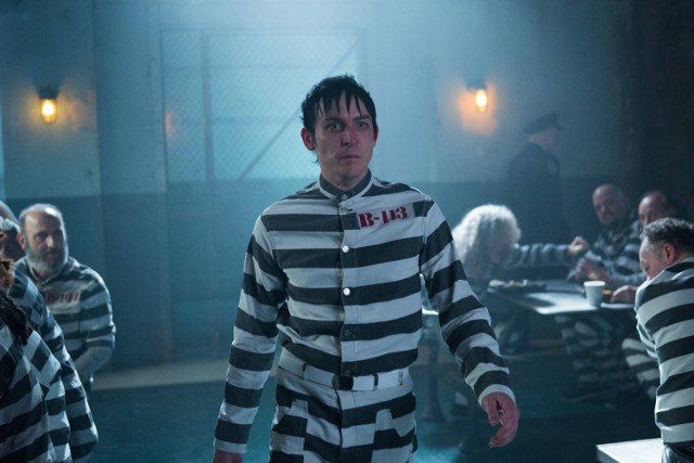 "Robin Lord Taylor as Oswald Cobblepot.Gotham 2, ep. 12 ""Mr. Freeze"""