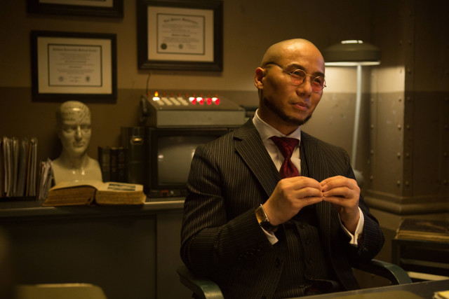 "B.D. Wong as Hugo Strange.Gotham 2, ep. 12 ""Mr. Freeze"""