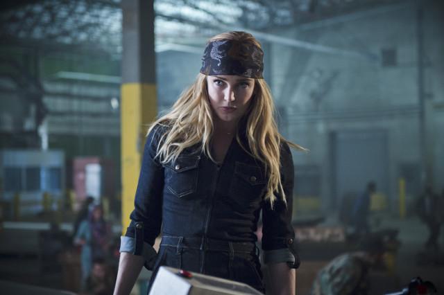 Caity Lotz as Sara Lance / White Canary.