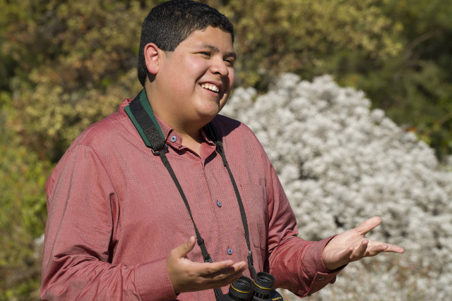 "Manny (Rico Rodriguez) in ""Spread Your Wings."""
