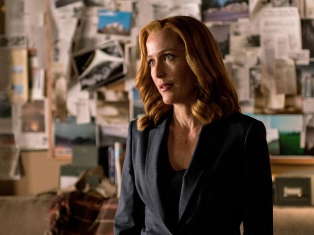 """Dana Scully (Gillian Anderson) in """"My Struggle II."""""""