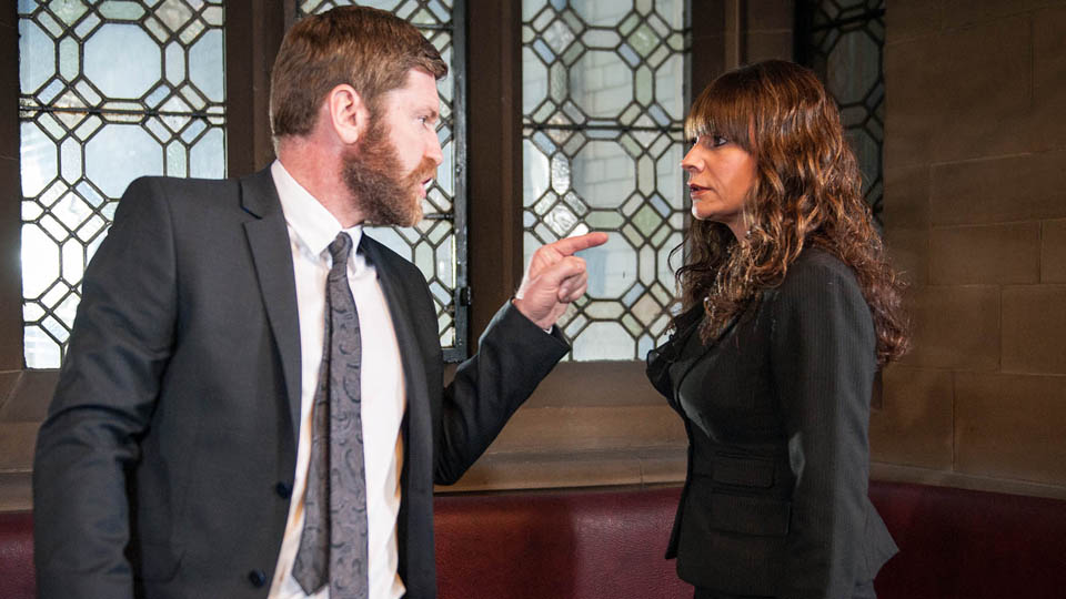 Gordon Livesy & Chas Dingle, Emmerdale