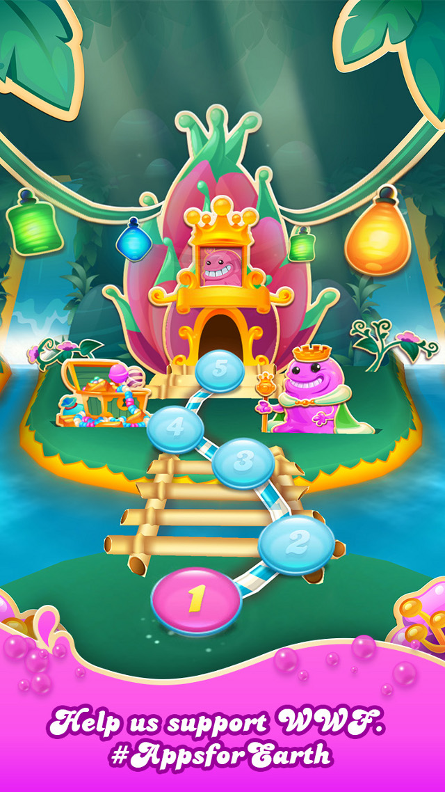 Candy Crush Soda Saga - Earth Day