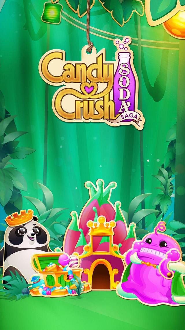 Candy Crush Soda Saga - Earth Day