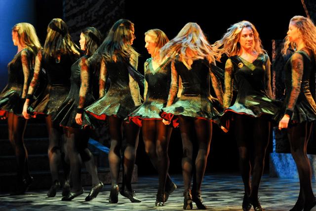 Riverdance in action. Photographer: Jack Hartin.