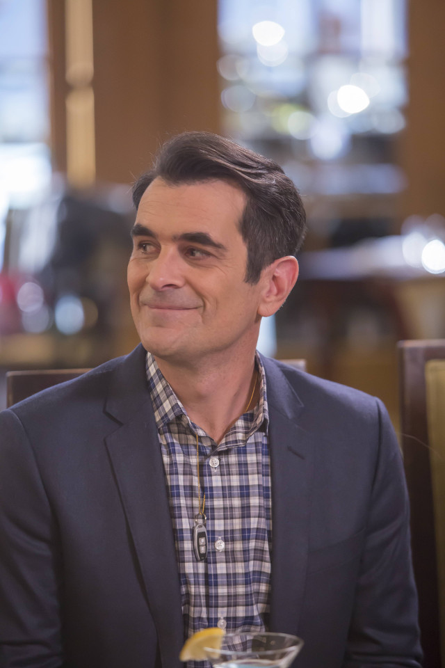 """Phil (Ty Burrell) in """"Thunk In The Trunk."""""""