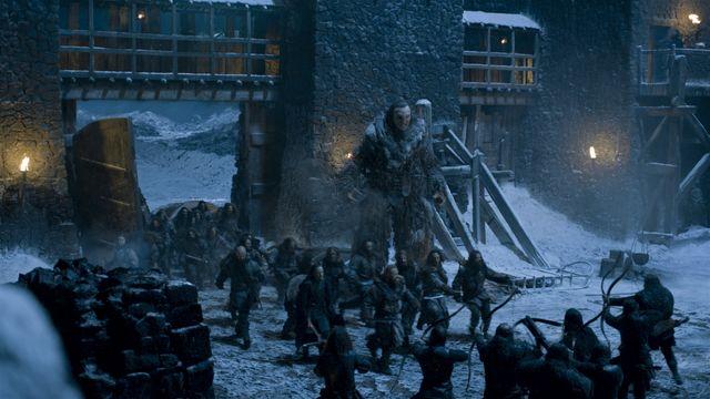 © HBO - Castle Black - The Wildlings