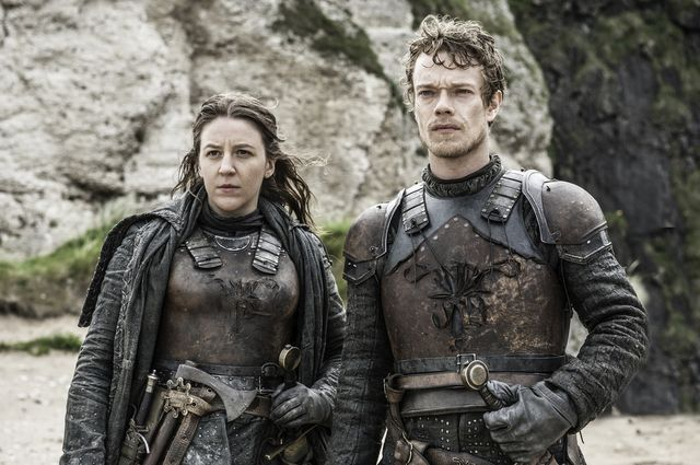 © HBO - Gemma Whelan as Yara Greyjoy, Alfie Allen as Theon Greyjoy