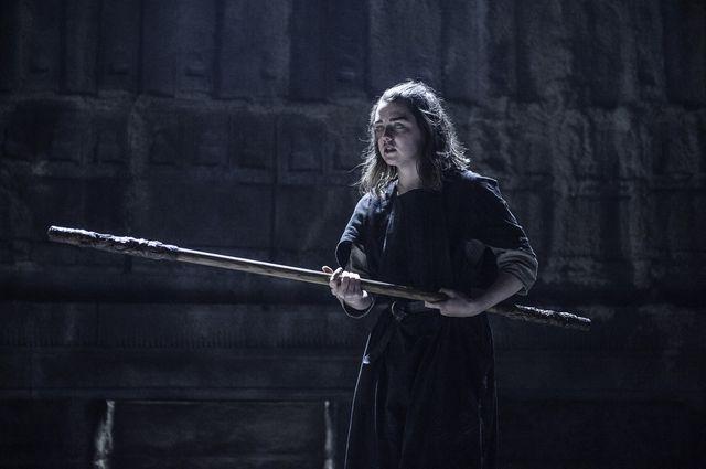 © HBO - Maisie Williams as Arya Stark