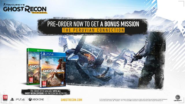 Tom Clancy's Ghost Recon Wildlands - Pre-order bonus