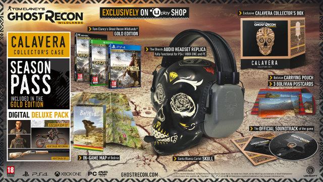 Tom Clancy's Ghost Recon Wildlands - Collectors Edition