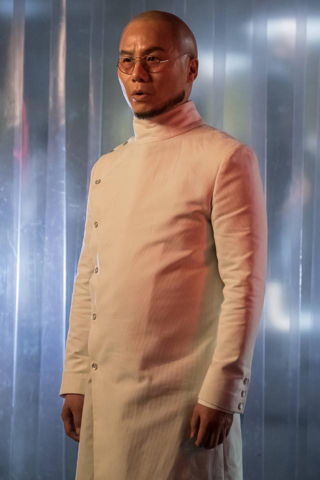 "B.D. Wong as Hugo Strange.Gotham 2, ep. 21 ""A Legion of Horribles"""