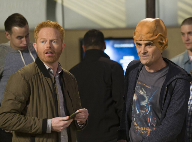 """(L-R): Mitchell (Jesse Tyler Ferguson) and Phil (Ty Burrell) in """"The Party."""""""