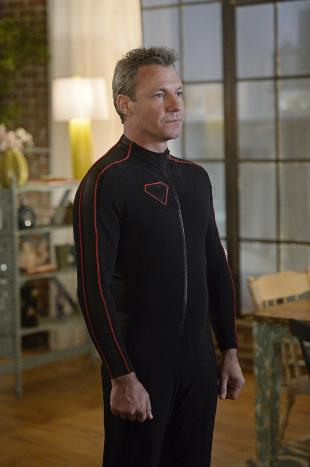 """Chris Vance as Non. Supergirl 1, ep. 14 """"Truth, Justice and The American Way"""""""
