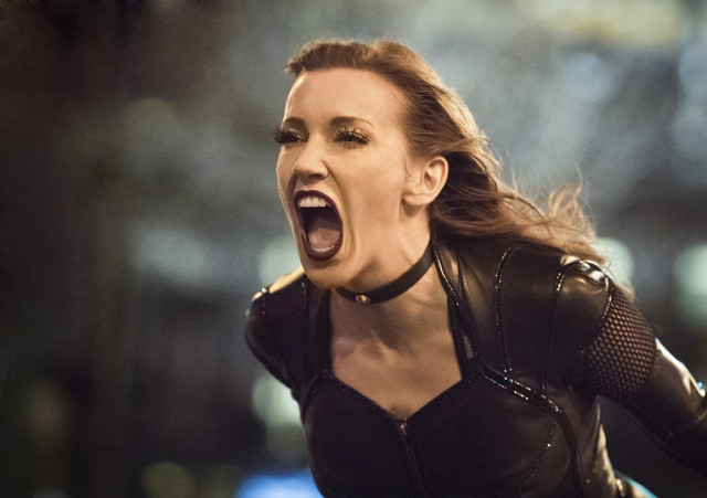 Katie Cassidy as Dinah Laurel Lance / Black Canary