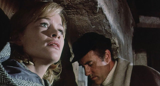 Judy Geeson and Ian Bannen. Credit: Aim Publicity.