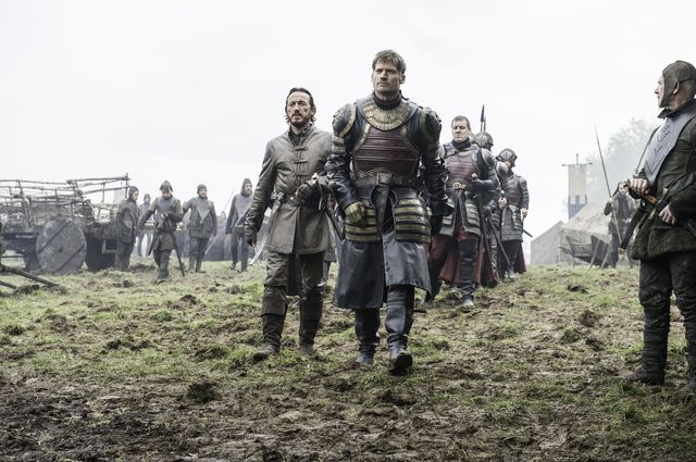 © HBO - Jerome Flynn as Bronn, Nikolaj Coster-Waldau as Jaime Lannister