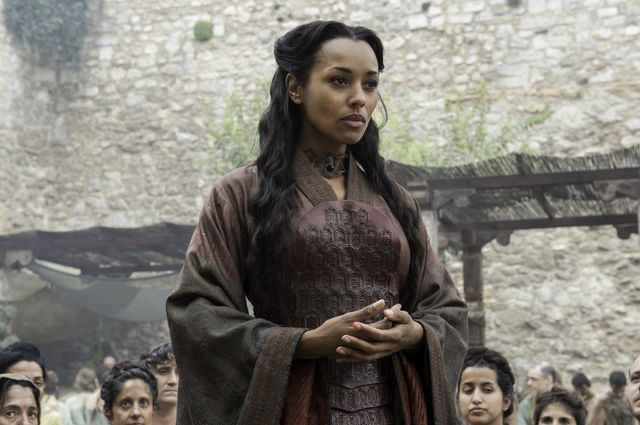 © HBO - Melanie Liburd as Red Priestess