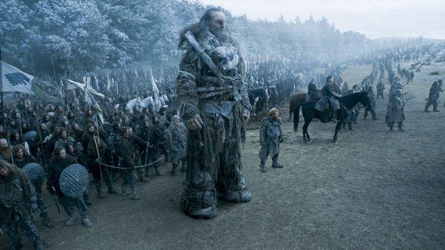 © HBO - Ian Whyte as Wun Wun, Kristofer Hivju as Tormund
