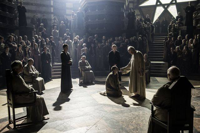 © HBO - Lancel Lannister;Loras  Tyrell;The High Sparrow