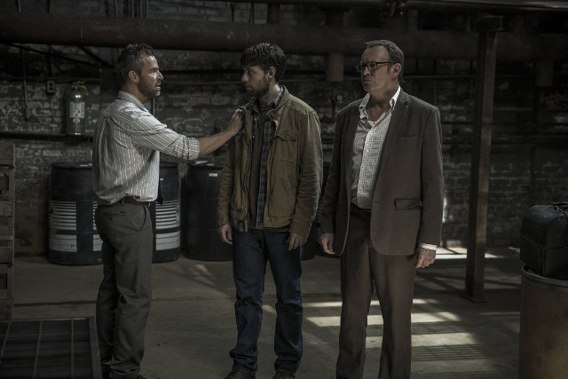 Outcast Season 1Episode 3Patrick Fugit and Philip Glenister