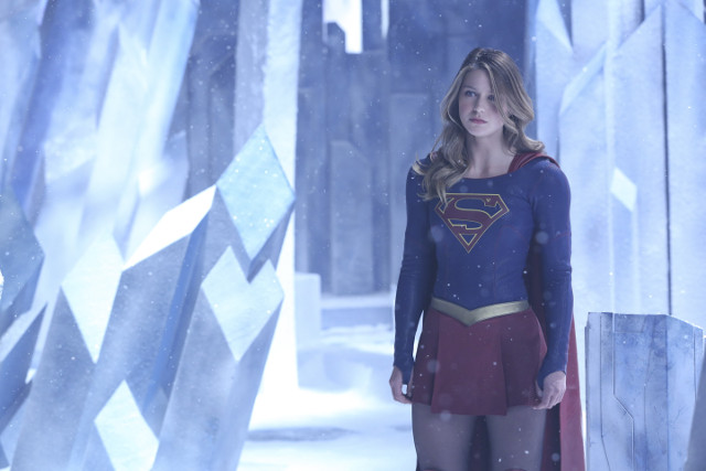Melissa Benoist as Kara Danvers/Kara Zor-El/Supergirl.
